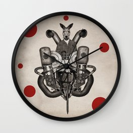 Anthropomorphic N°19 Wall Clock
