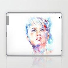 Eyes of Blue . . . portrait Laptop & iPad Skin