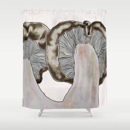 Blewit Pair Pink Shower Curtain