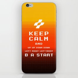 keep calm konami. iPhone Skin