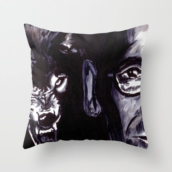 Treatise on the Steppenwolf. Not for Everybody. Throw Pillow