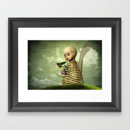 The Open Cage Framed Art Print