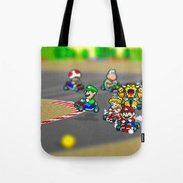 Mario Circuit Tote Bag