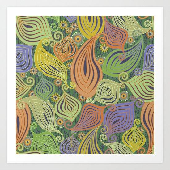 Zenyatta Mandala-Jungly Art Print