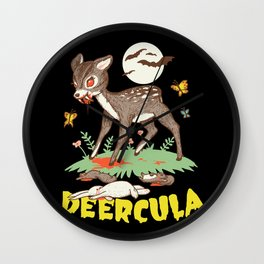 Deercula Wall Clock