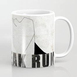Run Freak Run - White Coffee Mug