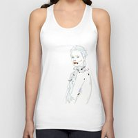 snake Tank Tops featuring SNAKE by SEVENTRAPS