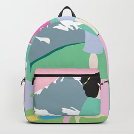 The boy and the mountain pig Backpack