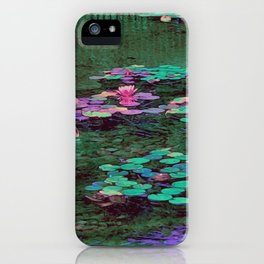 Beverly Hills Water Lily iPhone Case