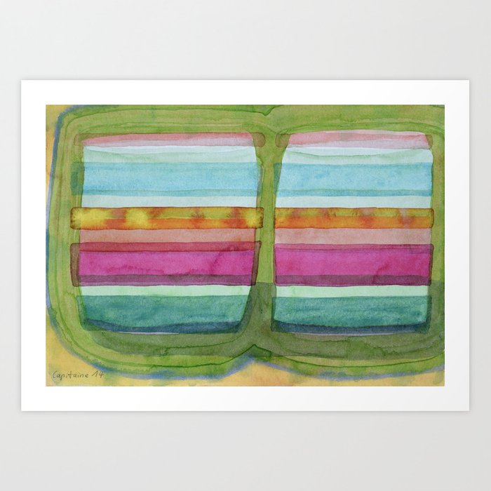 Two Glasses of Water Art Print