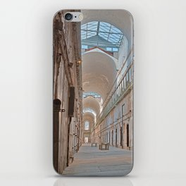 Abandoned Prison Corridor iPhone Skin