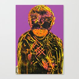 Tired (Purple) V.4 Canvas Print
