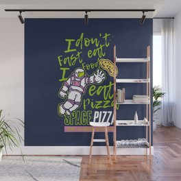 Astro Pizza Wall Mural