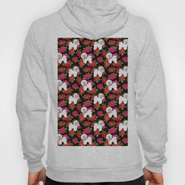 Bichon Frise dogs red rose floral for dog lovers Hoody