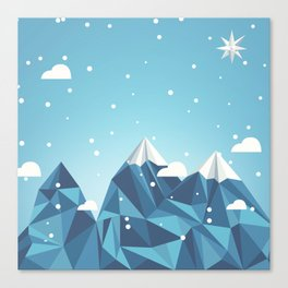 Cool Mountains Canvas Print