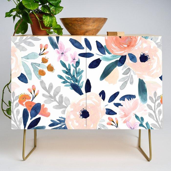 Jolene Floral Credenza