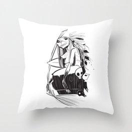 Babayaga Throw Pillow