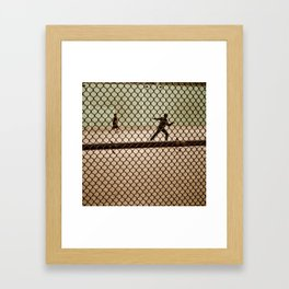 Hand Ball NYC Framed Art Print