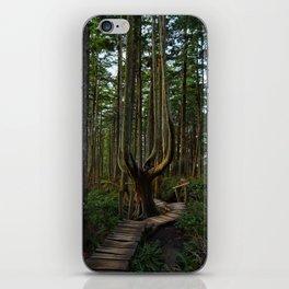 Cape Flattery Trees iPhone Skin