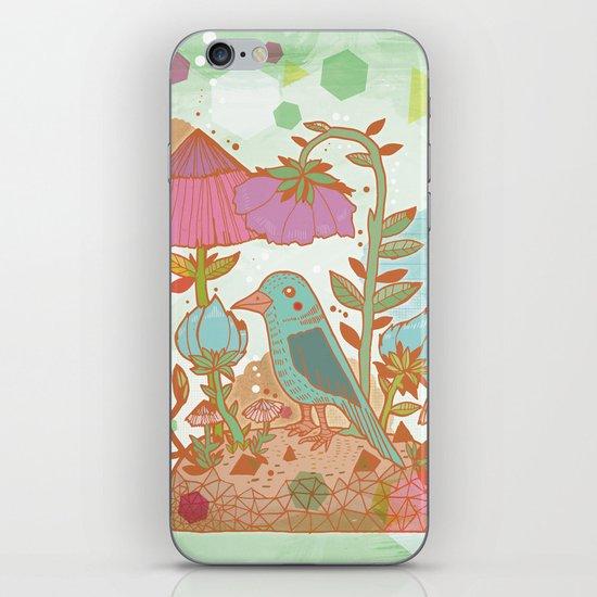The Blue Bird iPhone & iPod Skin
