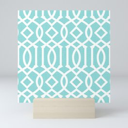 Limpet Shell - Trellis Mini Art Print