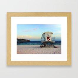 lifegaurd #5 Framed Art Print