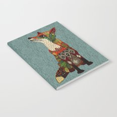 fox love juniper Notebook
