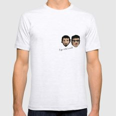 Flight of the Conchords Mens Fitted Tee Ash Grey LARGE