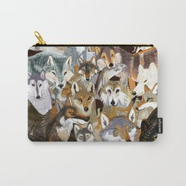 Wolves o´clock (Time to Wolf) Carry-All Pouch