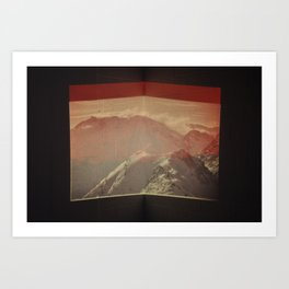 Untitled (Alps) Art Print