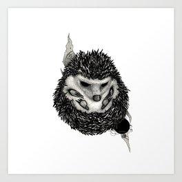H3D93H09 (Hedgehog) Art Print