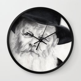 Lubavitcher Rebbe Wall Clock