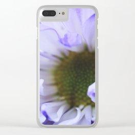 Purple Flush Clear iPhone Case