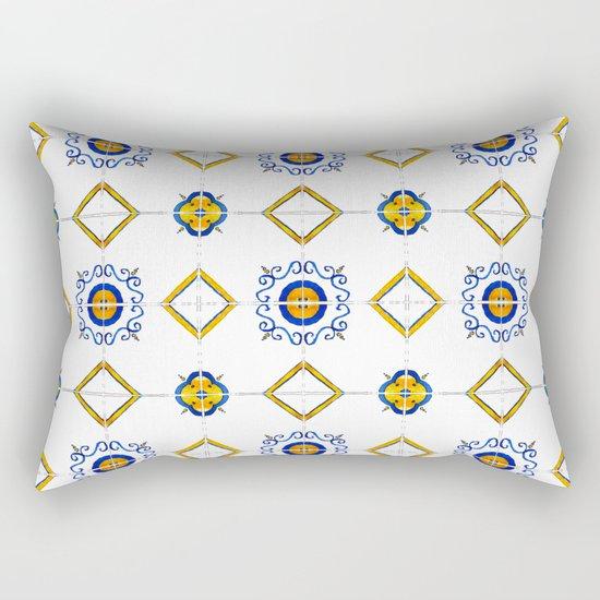 Majolica pattern Rectangular Pillow