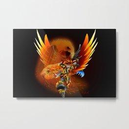 Holy Flame Vargas Metal Print