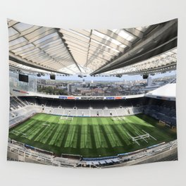 Newcastle Football Photography Wall Tapestry
