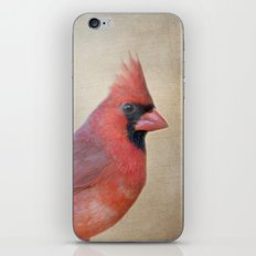 The Red Cardinal iPhone Skin