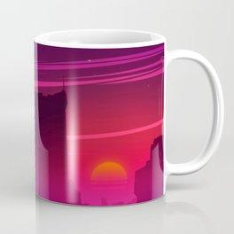 Synthwave Space #17: Twilight horizon Coffee Mug