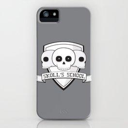 Skull's School iPhone Case