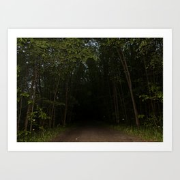 Unexplored Territory Art Print
