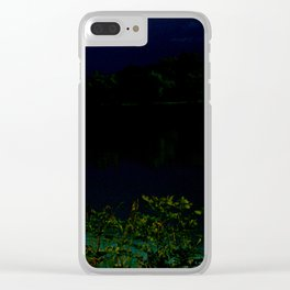 UNTITLED #74 Clear iPhone Case