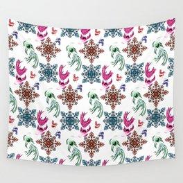 Aquarium pattern Wall Tapestry