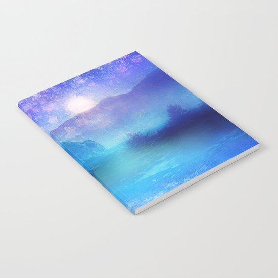 Fantasy in Blue. Notebook