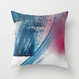 Variations in blue 1 Throw Pillow