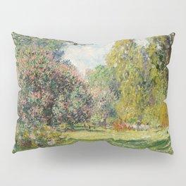 The Parc Monceau by Claude Monet Pillow Sham