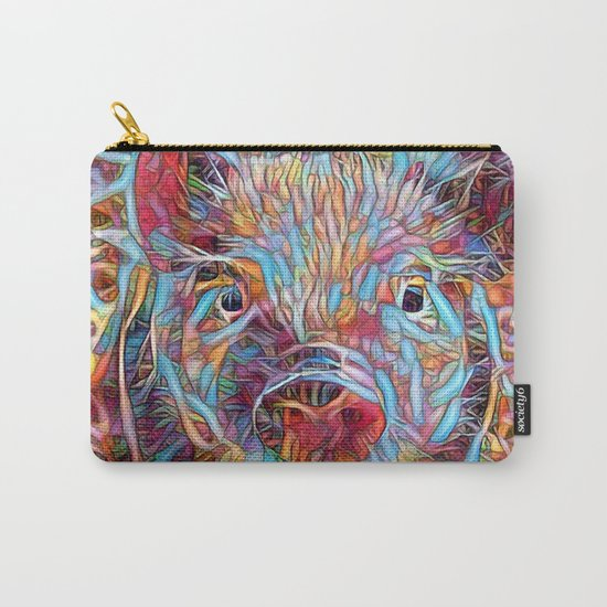 Funky little Piglet Carry-All Pouch