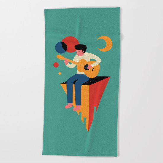 Peaceful Solo Beach Towel