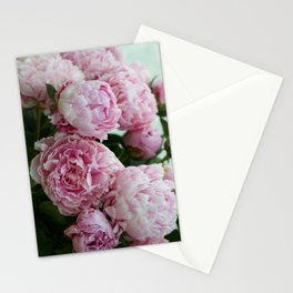Morning Peonies Stationery Cards