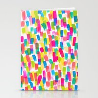 olivia joy Stationery Cards featuring Color Joy by Jacqueline Maldonado