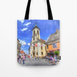 Szentendre Town Hungary Tote Bag